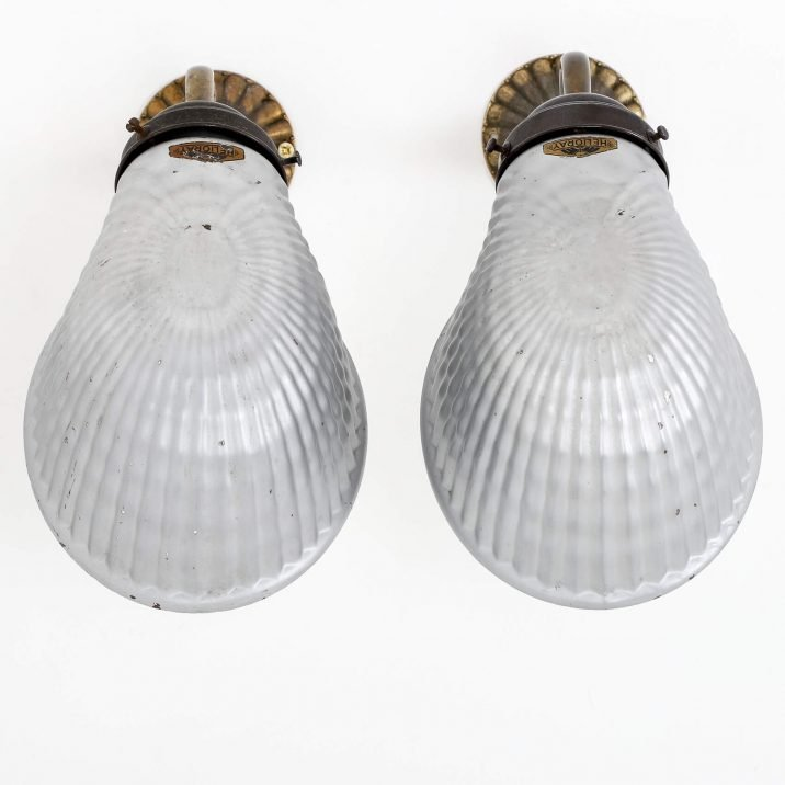 Antique Mirrored Helioray Wall Lights - Cooling & Cooling