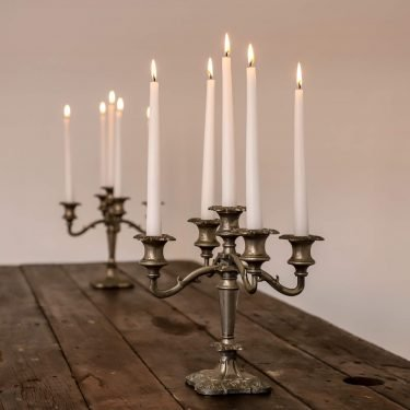 Antique Pair Of Candelabras - Cooling & Cooling
