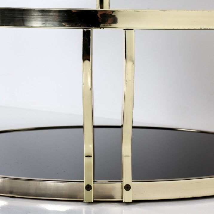 Swivelling Glass Coffee Table - Cooling & Cooling