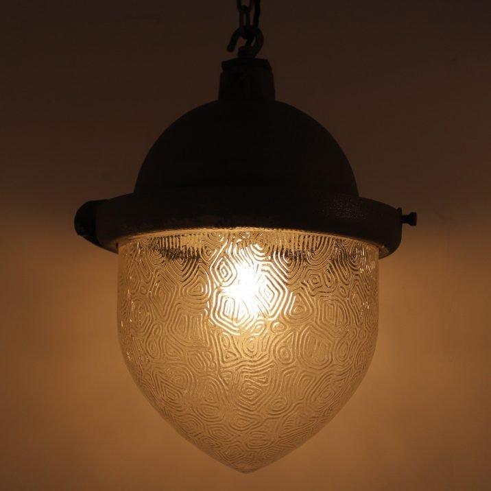 VINTAGE G.E.C SUBSTATION LIGHT - COOLING & COOLING