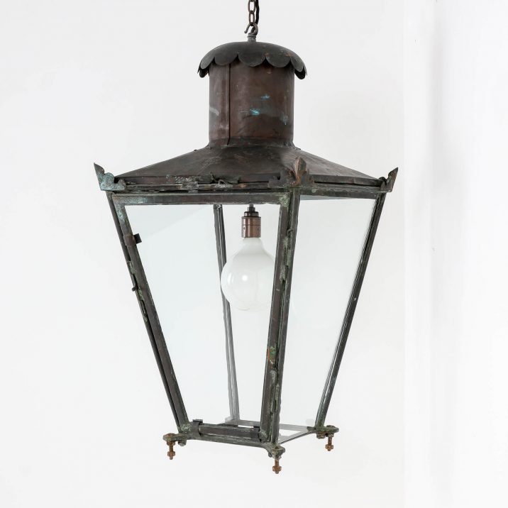 ANTIQUE COPPER LANTERN BY FOSTER PULLEN 1 Cooling & Cooling