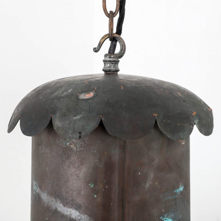 ANTIQUE COPPER LANTERN BY FOSTER PULLEN 4 Cooling & Cooling