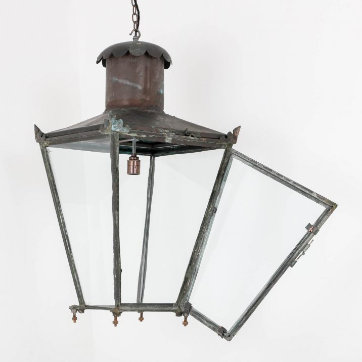 ANTIQUE COPPER LANTERN BY FOSTER PULLEN 7 Cooling & Cooling