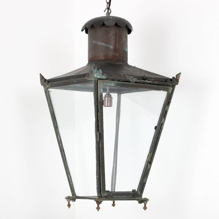 ANTIQUE COPPER LANTERN BY FOSTER PULLEN 8 Cooling & Cooling