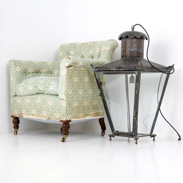 Victorian copper lantern