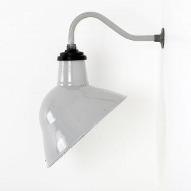vintage enamel wall light