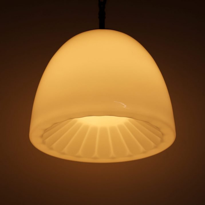 DECORATIVE CZECH OPALINE PENDANT LIGHT 9 Cooling & Cooling