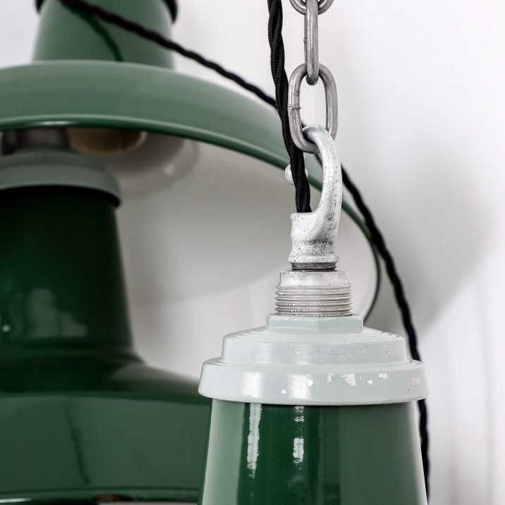 INDUSTRIAL 14″ GREEN PENDANT LIGHTS BY THORLUX 4 Cooling & Cooling