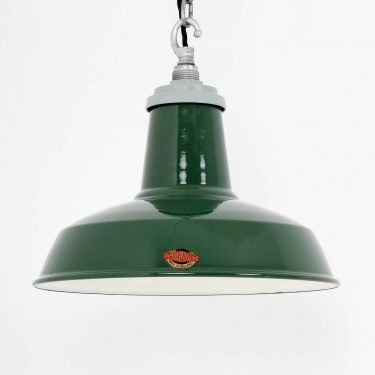 INDUSTRIAL 14″ GREEN PENDANT LIGHTS BY THORLUX 6 Cooling & Cooling
