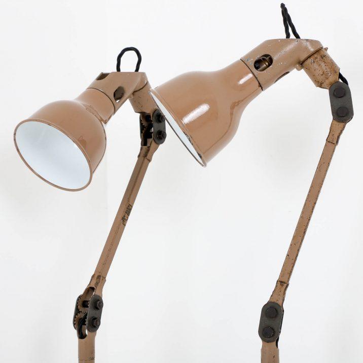 INDUSTRIAL MEK ELEK ANGLEPOISE LAMP 2 Cooling & Cooling