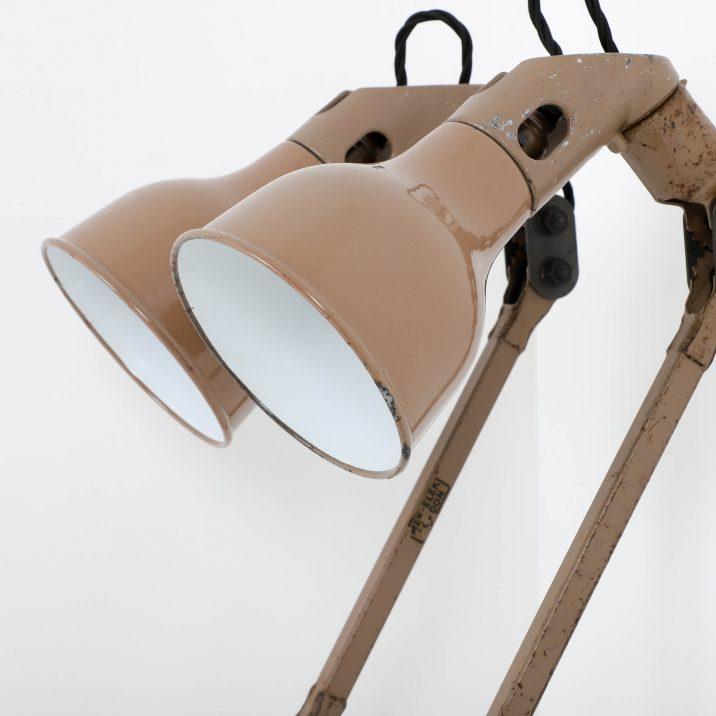INDUSTRIAL MEK ELEK ANGLEPOISE LAMP 6 Cooling & Cooling