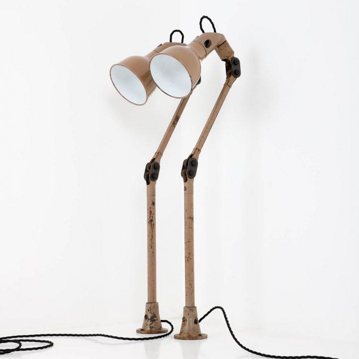 INDUSTRIAL MEK ELEK ANGLEPOISE LAMP 8 Cooling & Cooling