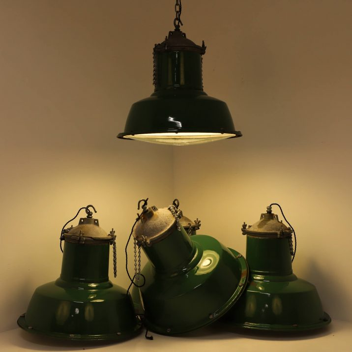 antique industrial lights