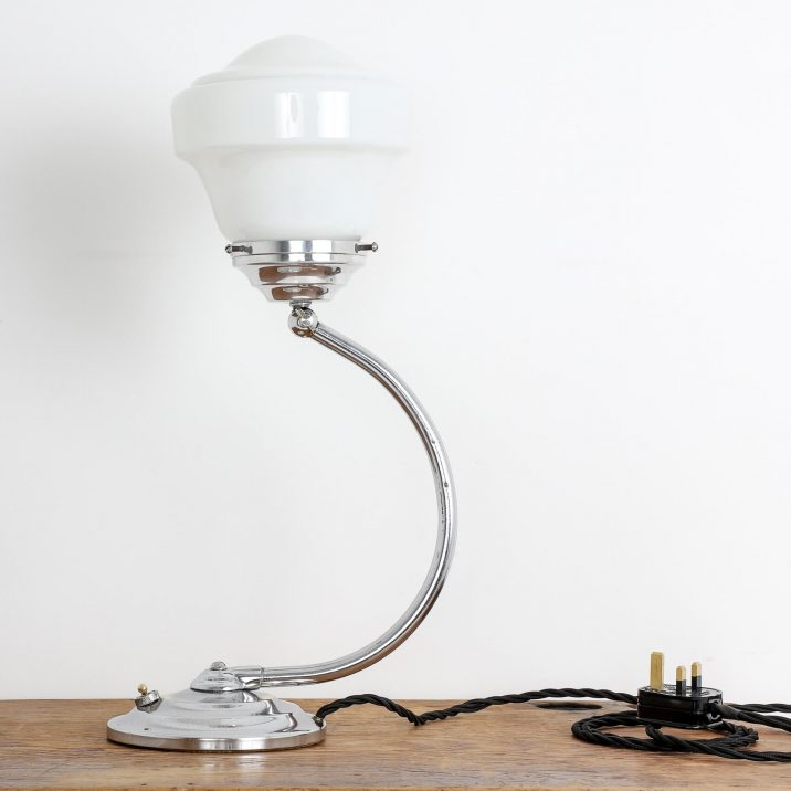 industrial art deco lamp