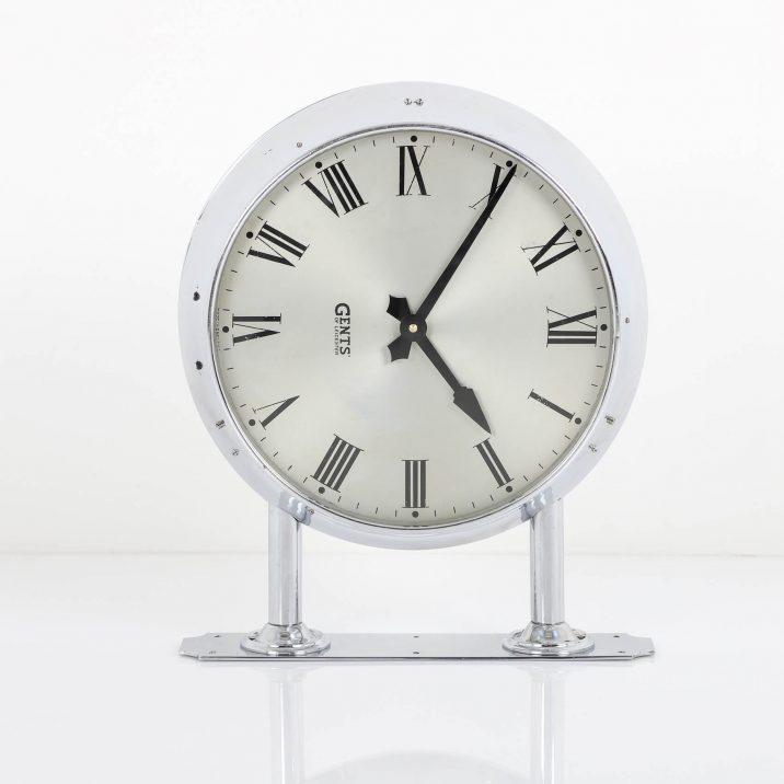 chrome station clock