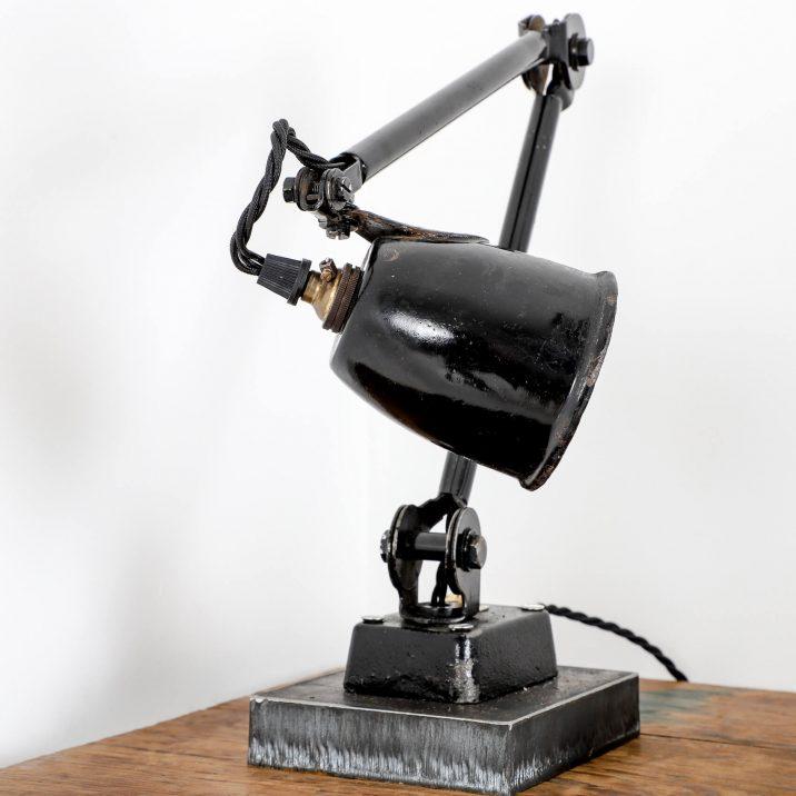 antique machinist factory lamp