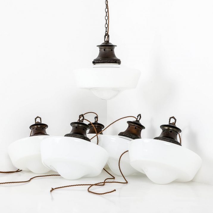 opaline pendant lighting