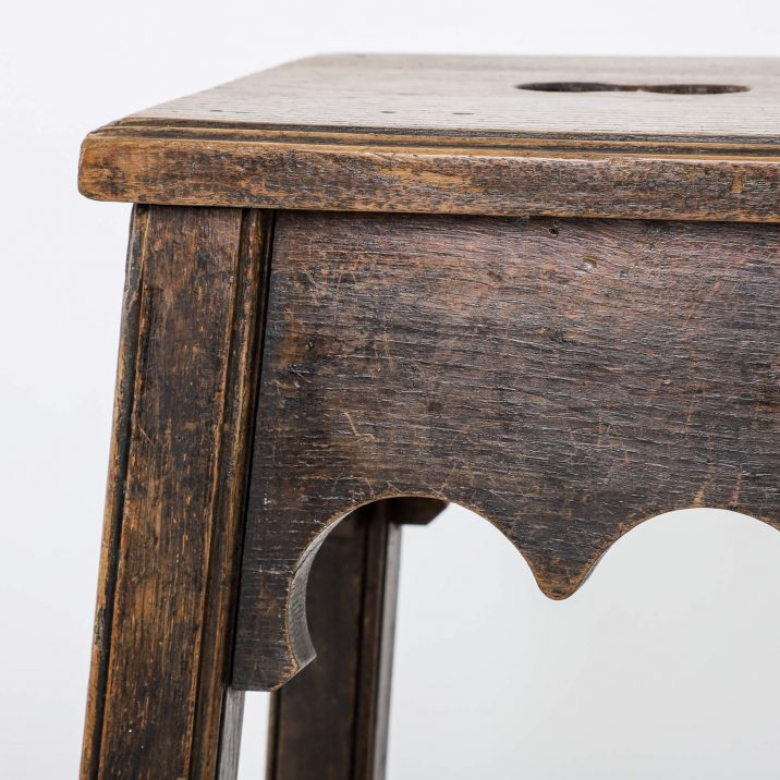 gothic vintage stool
