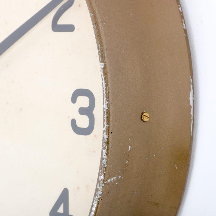 industrial antique wall clock