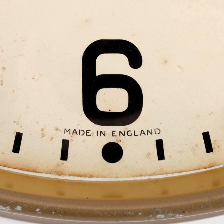 industrial british wall clock