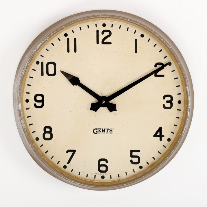 gents leicester wall clock
