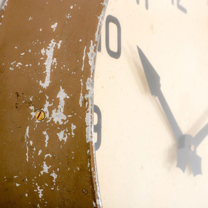 antique gents wall clock