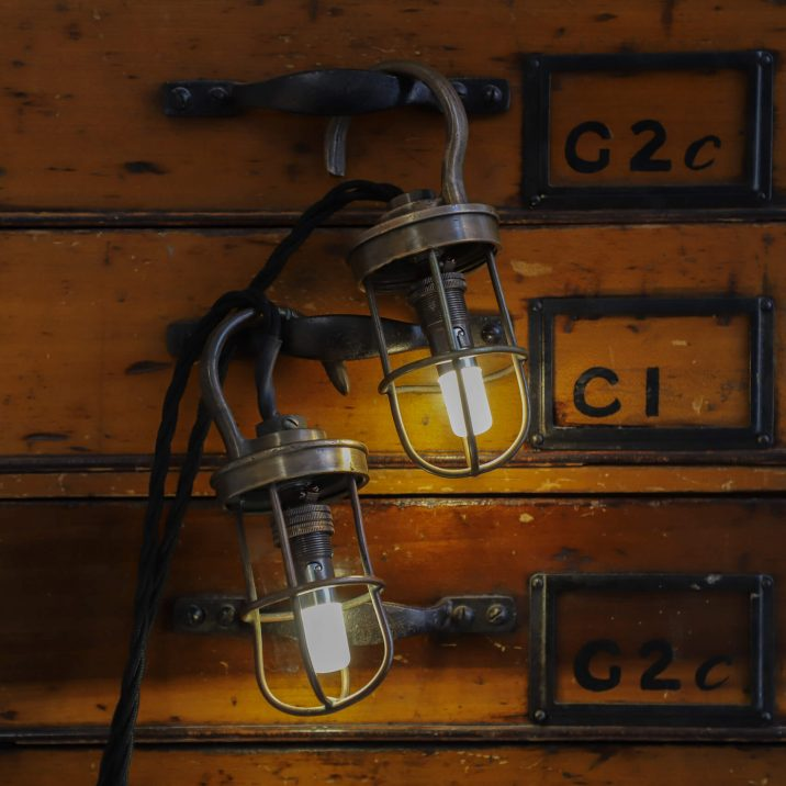 military inspection lamp