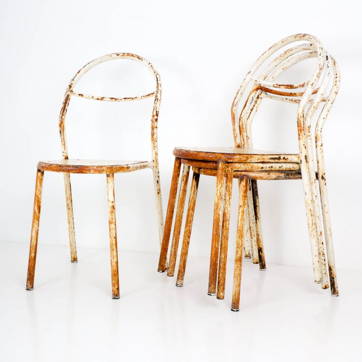rene herbst industrial chairs