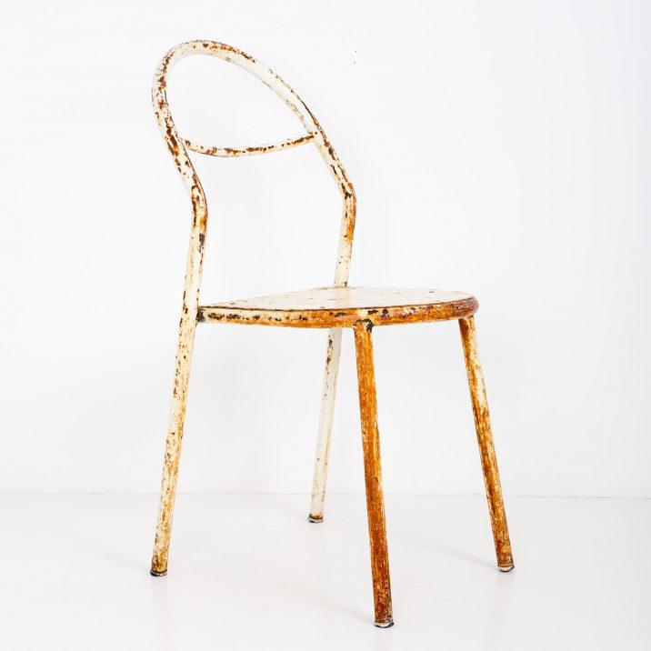antique rene herbst chair