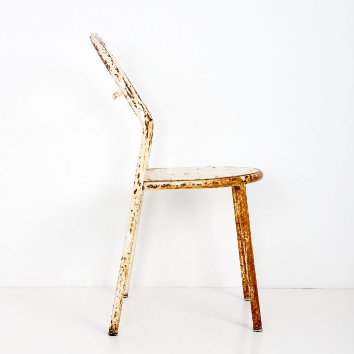 antique industrial rene herbst chair