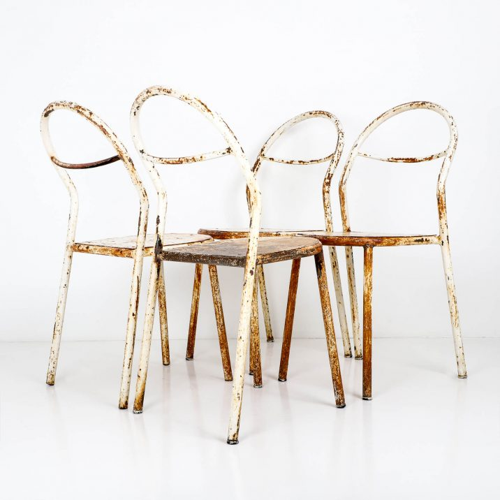 antique industrial chairs