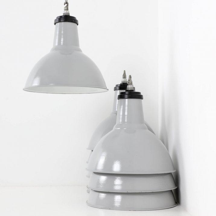industrial thorlux enamel pendant light