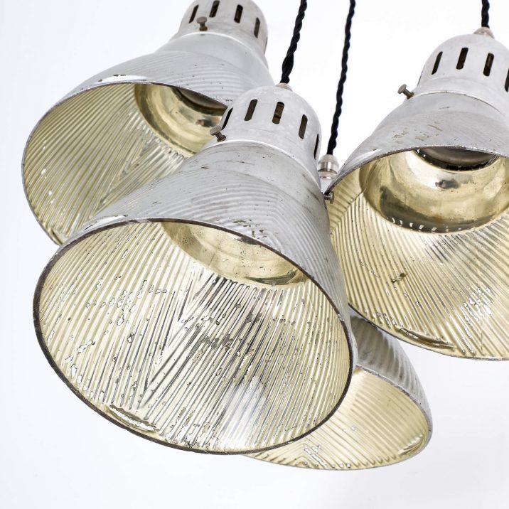 industrial mirrored pendant lighting