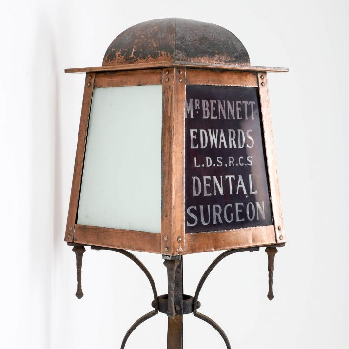 ARTS CRAFTS DENTAL SURGEON FLOOR LAMP 9 Cooling & Cooling