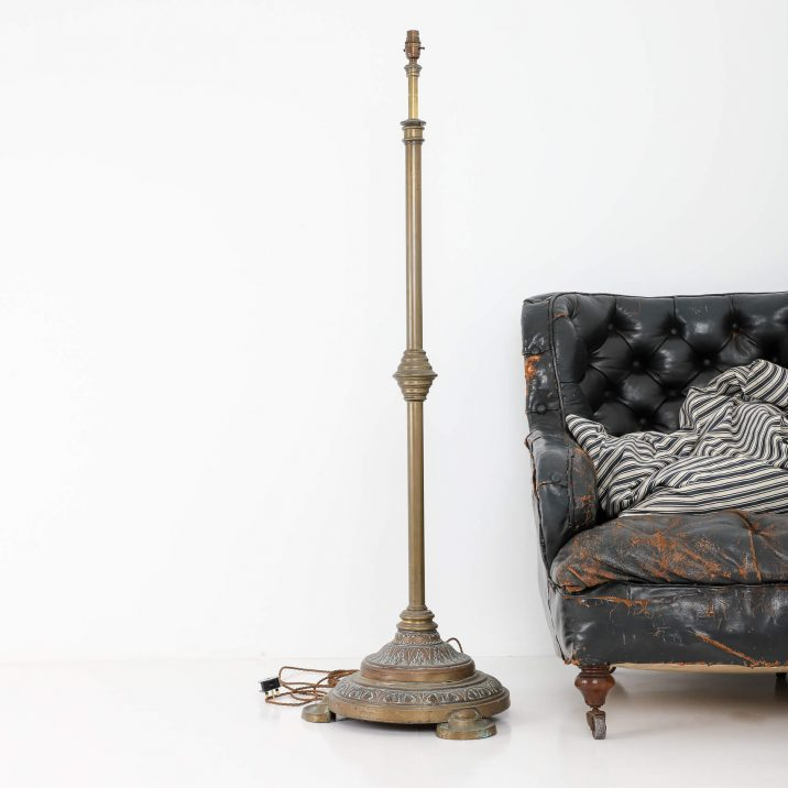 DECORATIVE BRASS FLOOR LAMP 3 Cooling & Cooling