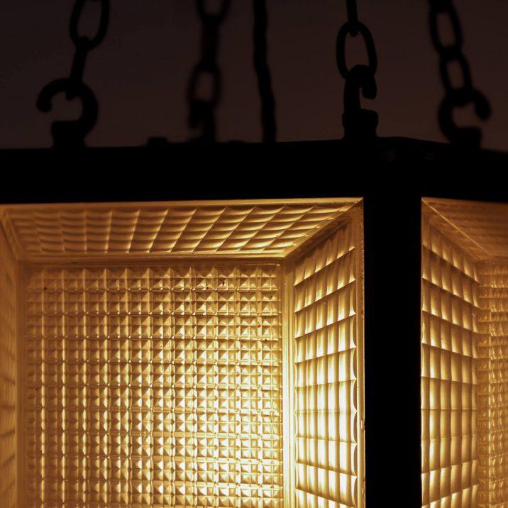 cube antique pendant lighting