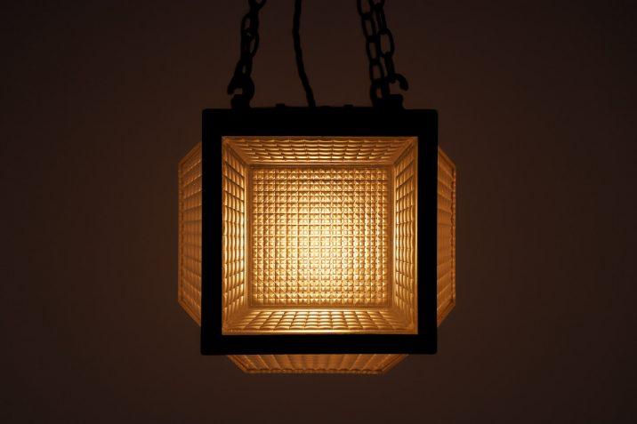 antique cube pendant lighting