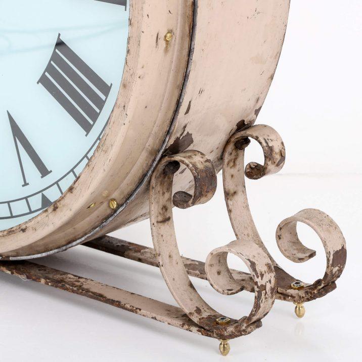 antique illuminated clock
