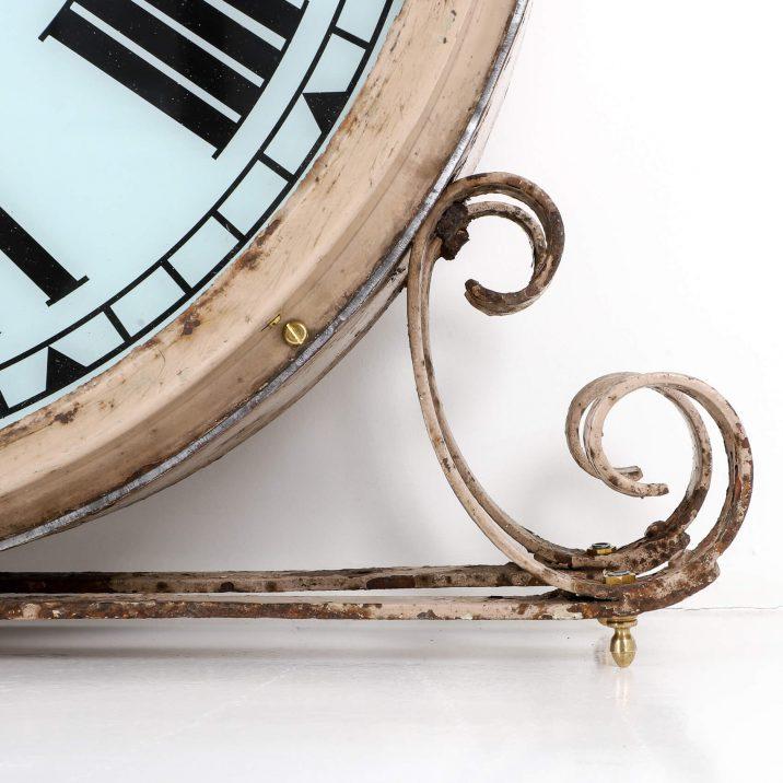 antique illuminated smiths clock