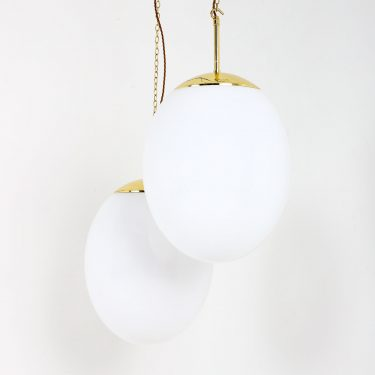 XXL OVALOID OPALINE PENDANT 1 1 Cooling & Cooling
