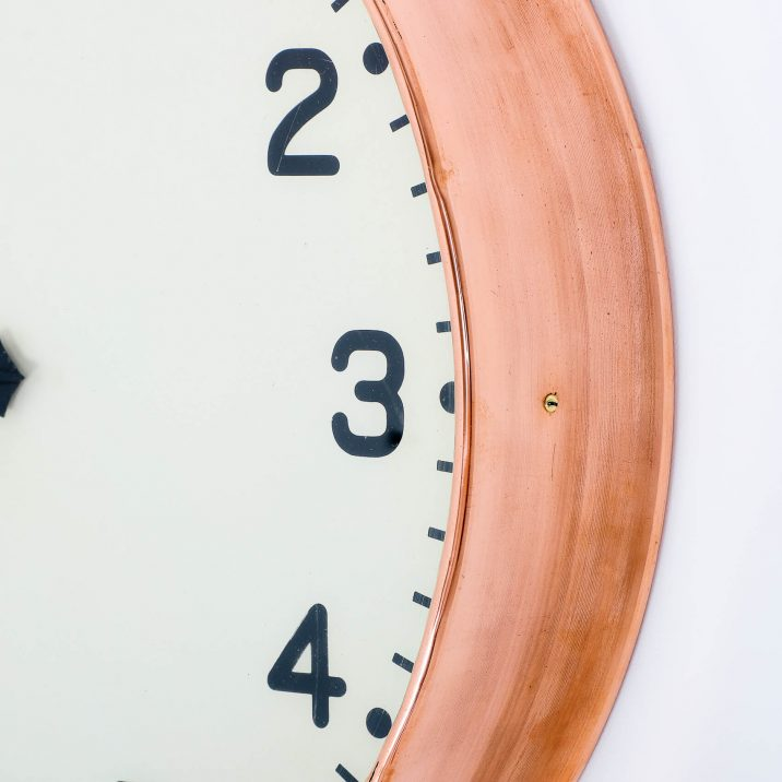 COPPER GENTS WALL CLOCK 3 Cooling & Cooling