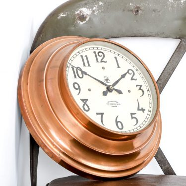 ITR COPPER WALL CLOCK 1 Cooling & Cooling