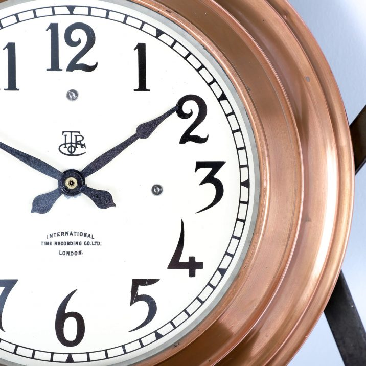 ITR COPPER WALL CLOCK 3 Cooling & Cooling