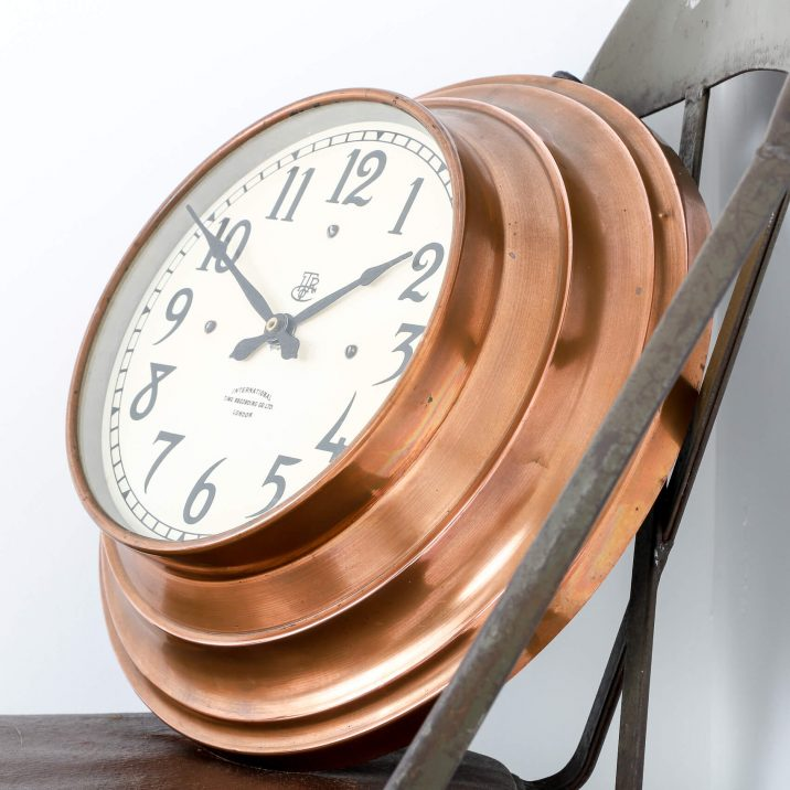 ITR COPPER WALL CLOCK 4 Cooling & Cooling