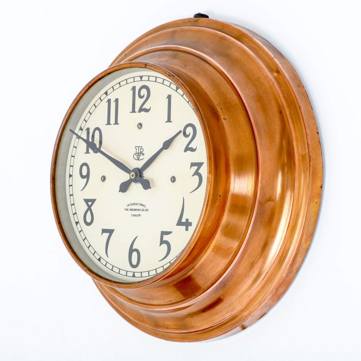 ITR COPPER WALL CLOCK 6 Cooling & Cooling