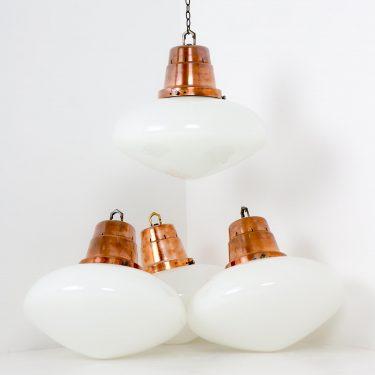 XL OVALOID OPALINE CHAPEL PENDANT LIGHT 1 Cooling & Cooling