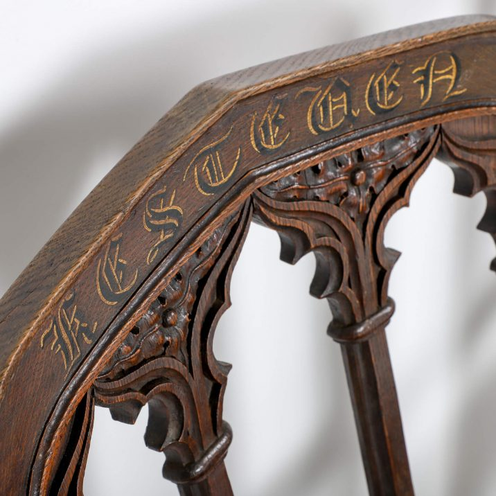 19th CENTURY CEREMONIAL CHAIRS 10 Cooling & Cooling