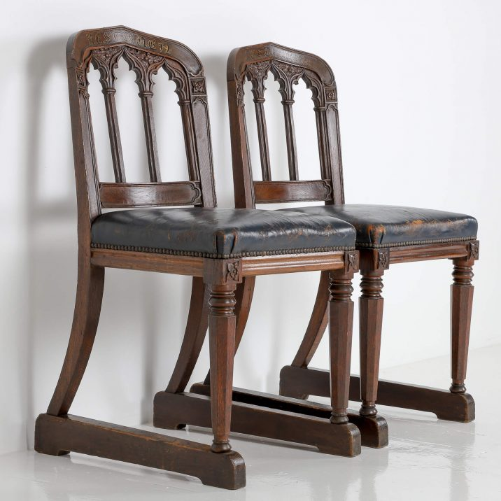 19th CENTURY CEREMONIAL CHAIRS 8 Cooling & Cooling
