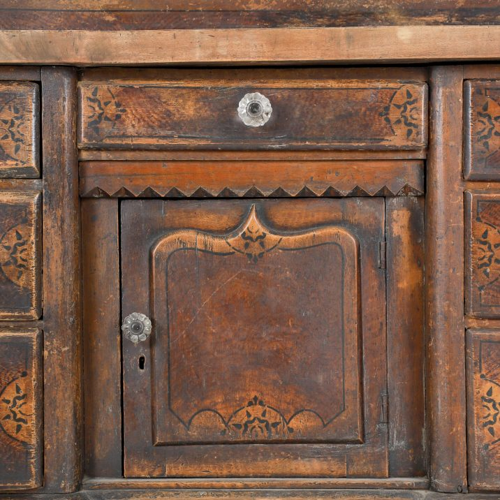 19th CENTURY PAINTED DRESSER 11 Cooling & Cooling