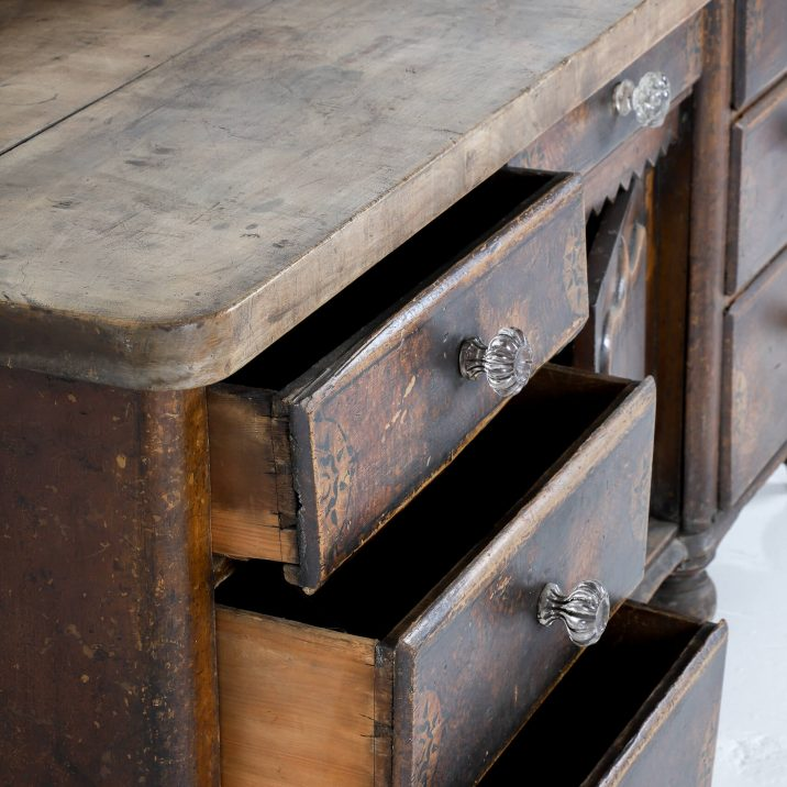 19th CENTURY PAINTED DRESSER 13 Cooling & Cooling